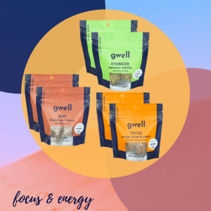 Gwell Bites Energy Snack Pack