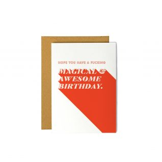 Magical & Awesome Birthday - Greeting Card