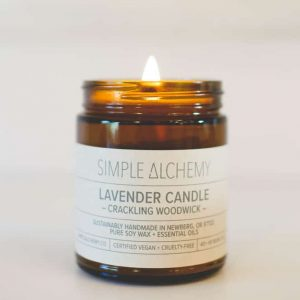 Lavender | Soy Woodwick Candle