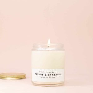 Citrus & Sunshine Candle