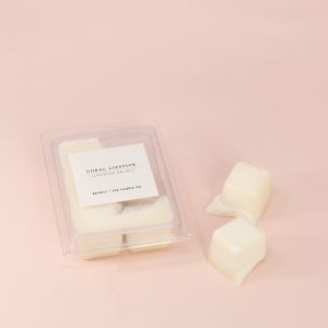 Coral Lipstick Soy Wax Melts