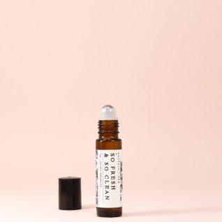 SO FRESH& so CLEAN Natural Roll-On Perfume Oil | Rollerball Perfume | Gift