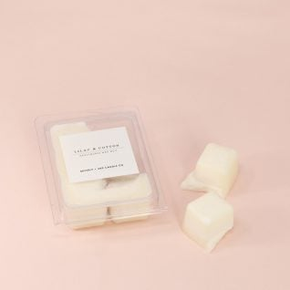 LILAC & COTTON Soy Wax Melts | Scented Soy Tarts, Soy Candle Melt, Scented Wax Cubes | Wholesale, Bulk Order