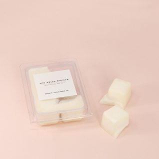 SUN DRIED WREATH Soy Wax Melts | Scented Soy Tarts, Soy Candle Melt, Scented Wax Cubes