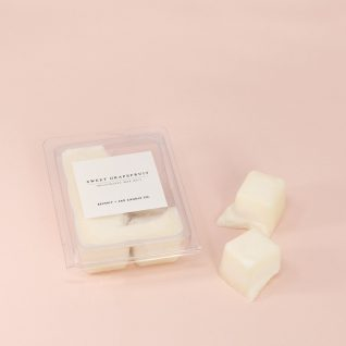 SWEET GRAPEFRUIT Soy Wax Melts | Scented Soy Tarts, Soy Candle Melt, Scented Wax Cubes