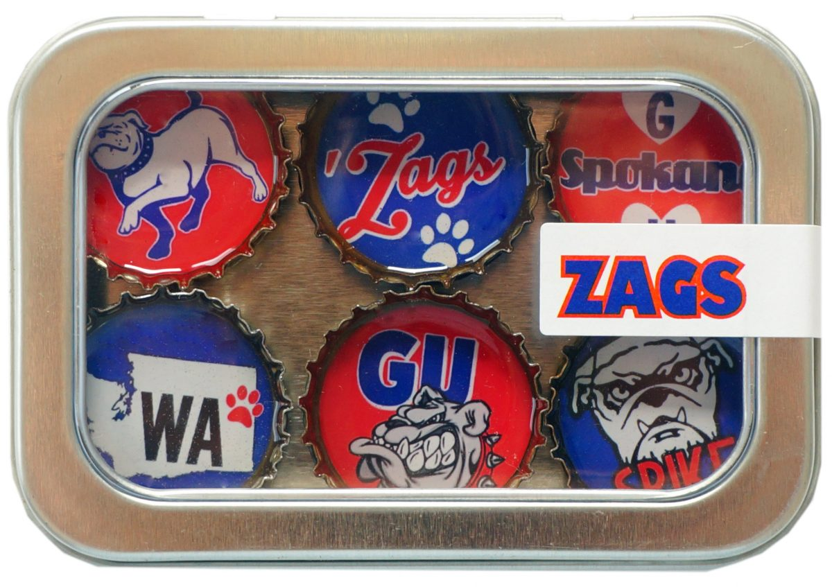 Zags Magnet - Six Pack