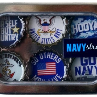 Navy Magnet - Six Pack