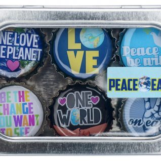 Peace on Earth Magnet - Six Pack