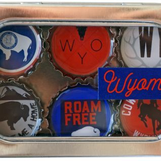 Wyoming Magnet - Six Pack