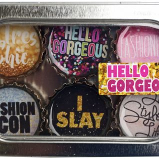 Hello Gorgeous Magnet - Six Pack
