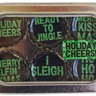 Holiday Cheers Magnet - Six Pack