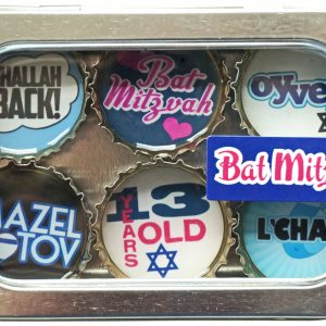 Bat Mitzvah Magnet - Six Pack