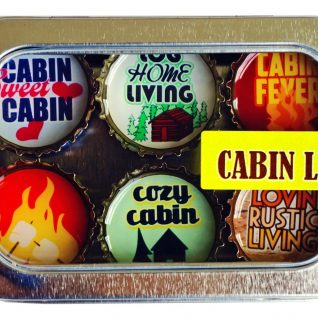 Cabin Life Magnet - Six Pack