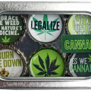 Cannabis Magnet - Six Pack