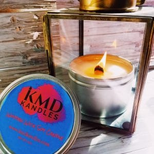 Fresh Cut Roses Wooden Wick Soy Candle 8 oz