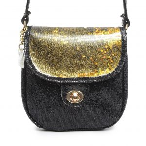 Black Sparkle Crossbody