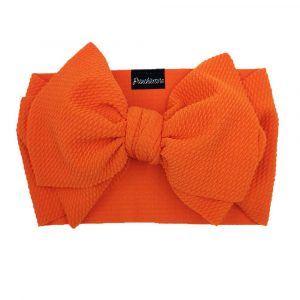 Frenchiestore Pet Head Bow | Orange