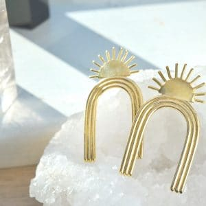 Sunrise Arcos Earrings