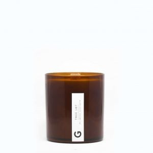Wooden Wick Candle | Tree Lot